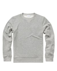 Sunspel - Gray Men's Loopback Cotton Sweatshirt for Men - Lyst