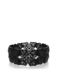 Oasis | Black Filigree Stretch Bracelet | Lyst