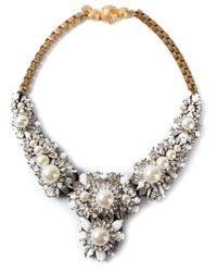 Shourouk - Metallic 'Apolonia' Necklace - Lyst