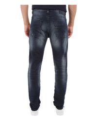 Calvin Klein Jeans - Taper Jeans In Blue Shadow for Men - Lyst