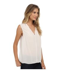 Velvet By Graham & Spencer - Natural Wendell03 Rayon Challis Tank Top - Lyst