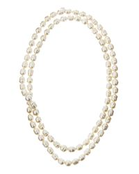 Majorica - White 10mm Baroque Pearl Necklace - Lyst