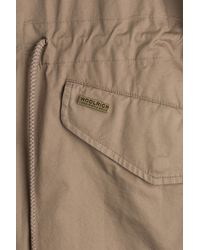 Woolrich - Natural Prescott Eskimo Cotton Jacket - Brown - Lyst