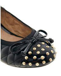 ALDO - Mantsopa Black Flat Shoe - Lyst