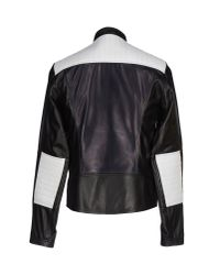 Les Hommes - Black Jacket for Men - Lyst