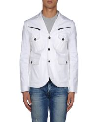 DSquared² - White Blazer for Men - Lyst