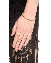 Vanessa Mooney - Metallic Le Revolution Bracelet - Lyst