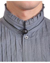 Dries Van Noten - Black Necklace With Pearl for Men - Lyst