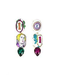 Bijoux De Famille - Multicolor Arty Dollar Earrings - Lyst