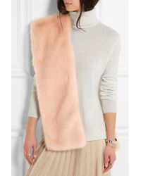 J.Crew | Pink Collection Faux Fur Scarf | Lyst