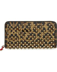 Christian Louboutin | Brown Panettone Wallet | Lyst