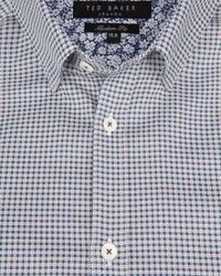 Ted Baker | Black Debonair Geo Print Shirt for Men | Lyst