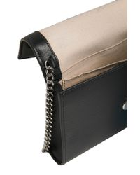 HUGO - Black Leather Clutch Bag: 'nina' - Lyst