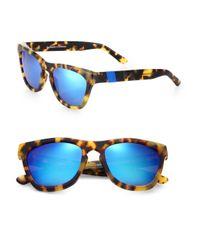 Westward Leaning - Blue Color Revolution Square Sunglasses - Lyst