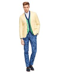 Brooks Brothers | Yellow Cotton Twill Sport Coat for Men | Lyst