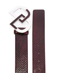 DSquared² - Multicolor Logo Belt - Lyst
