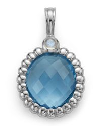 Slane - Nuage Small Blue Topaz & Labradorite Pendant - Lyst