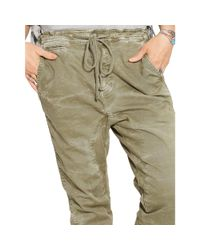 Denim & Supply Ralph Lauren - Green Slouchy Chino Pant - Lyst