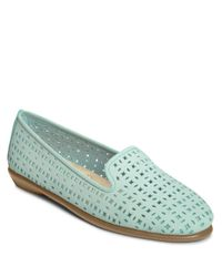Aerosoles | Blue You Betcha Round Toe Leather Loafer | Lyst