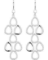 Links of London - Metallic Hope Silver Topaz Earrings - Lyst