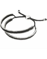 Links of London - Black Double Wrap Friendship Bracelet - For Women - Lyst