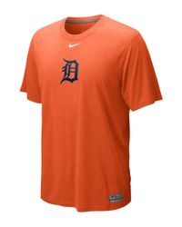 Nike | Orange Men's Detroit Tigers Dri-fit Logo Legend T-shirt for Men | Lyst