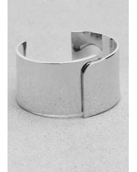 & Other Stories | Metallic Broad Brass Cuff | Lyst