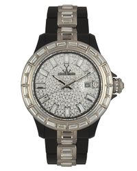 Toy Watch - Metallic Ladies Silvertone Crystal Watch - Lyst
