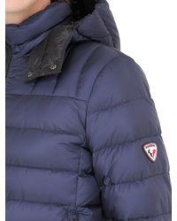 Rossignol - Blue Clovis Nylon Down Jacket for Men - Lyst