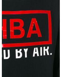 Hood By Air - Black Logo Longsleeved T-shirt for Men - Lyst