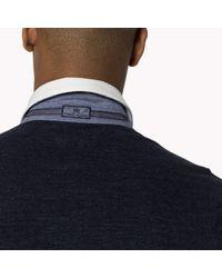 Tommy Hilfiger   Blue Cotton Slim Fit Polo for Men   Lyst