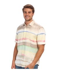 Tommy Bahama - Multicolor Island Modern Fit Horizon Cruiser Ss Shirt for Men - Lyst