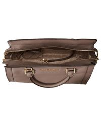 MICHAEL Michael Kors | Brown Collins Medium Satchel | Lyst