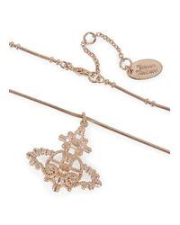 Vivienne Westwood - Pink Pendant Necklace - Lyst
