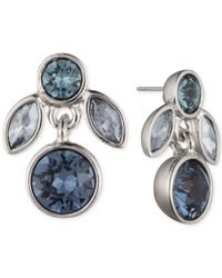 Givenchy   Silver-tone & Blue Stone Necklace   Lyst