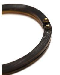 Cedric Jacquemyn - Brown 'zinave' Bracelet for Men - Lyst
