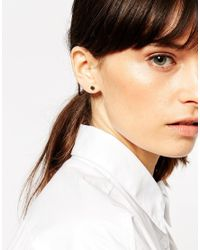 ASOS - Metallic Mixed Shapes Multipack Earrings - Lyst