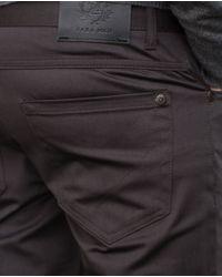 Zara | Gray Slim Trousers for Men | Lyst