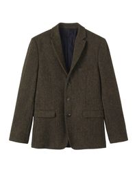 Toast | Green Harris Tweed Jacket for Men | Lyst