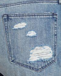 3x1 - Blue Shorts - Boyfriend Distressed In Ainslie - Lyst