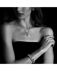 David Yurman | Metallic Cable Classics Bracelet With Diamonds, 7mm | Lyst