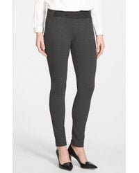 Lafayette 148 New York | Gray Contour Seam Leggings | Lyst