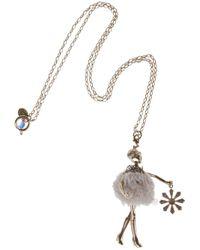 Servane Gaxotte - Metallic Girl Pendant Necklace - Lyst