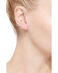 Hirotaka | White Single Akoya Pearl Ear Cuff | Lyst