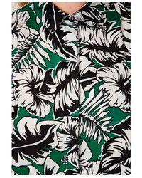 Missguided - Green Kohala Hawaiian Print Blouse - Lyst