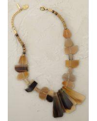 Anthropologie - Brown Java Necklace - Lyst