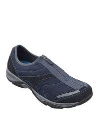 Easy Spirit - Blue Ellicott Zip-up Sneakers - Lyst