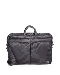 Porter | Gray Two-Way Camo Briefcase for Men | Lyst