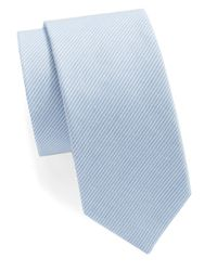 Original Penguin - Blue Striped Tie for Men - Lyst