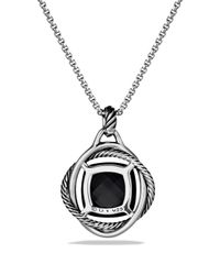 David Yurman | Infinity Pendant With Black Onyx | Lyst